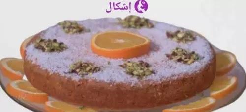 طريقة عمل كيكة البرتقال بجوز الهند