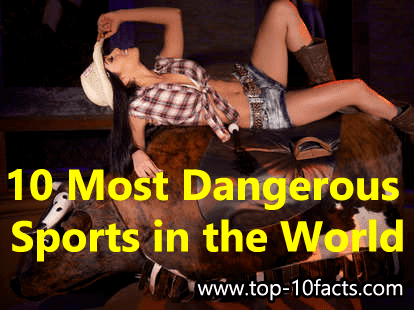 10 Most Dangerous Sports in the World