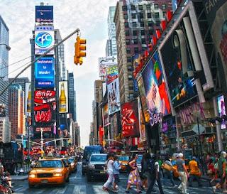 New York merupakan kota bisnis tingkat kelas dunia