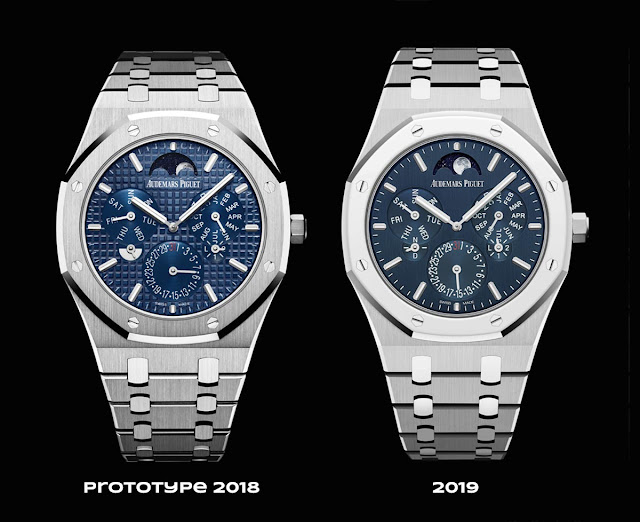 Audemars Piguet Royal Oak Selfwinding Perpetual Calendar Ultra-Thin 26586IP and the #RD2 protottype