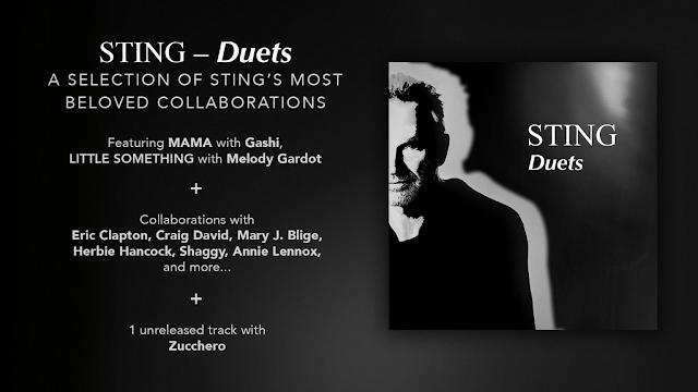 Sting anuncia la fecha para su nuevo disco de duetos