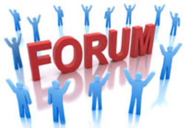 Free SEO Help: Over 1,000 Forum Backlink Websites List of High PR