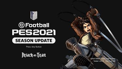PES 2021 Menu Mod Attack on Titan