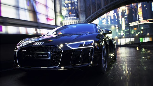 Final Fantasy themed Audi R8