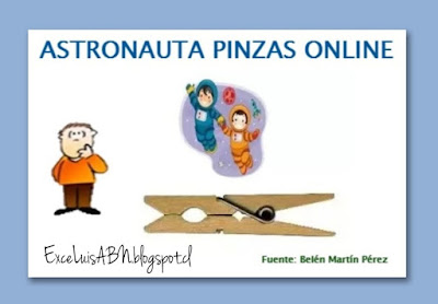 Astronauta pinzas online.