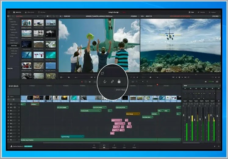 DaVinci Resolve : Επαγγελματικών προδιαγραφών επεξεργασία βίντεο