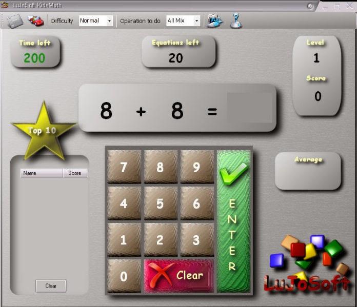 LuJoSoft KidsMath 1.0.0