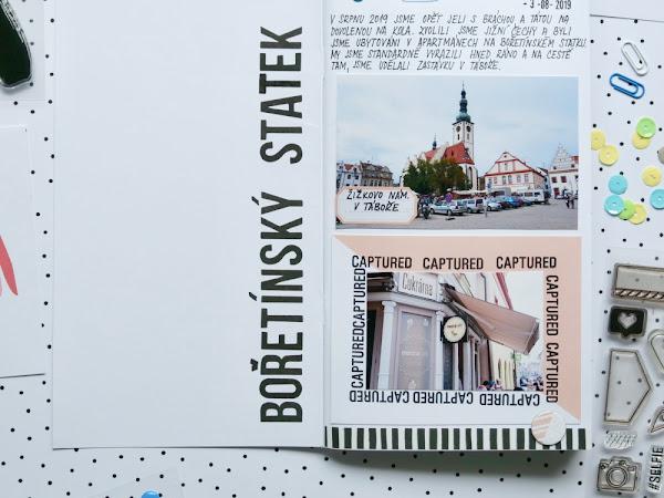 TRAVELER'S NOTEBOOK - Bořetínský statek 2019