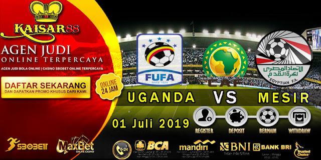 Prediksi Bola terpercaya Liga Africa Cup Uganda vs Egypt 1 Juli 2019