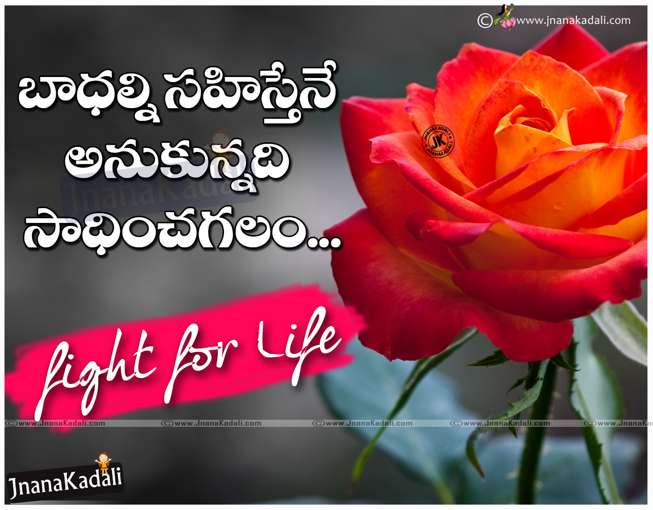 inspirational light for life telugu quotes with hd