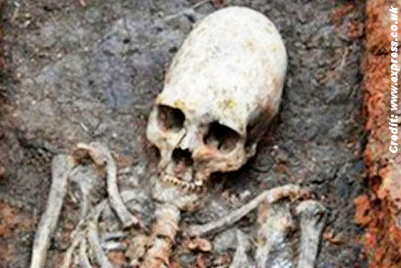 Alien Skeleton Unearthed at Russia's Stonehenge?
