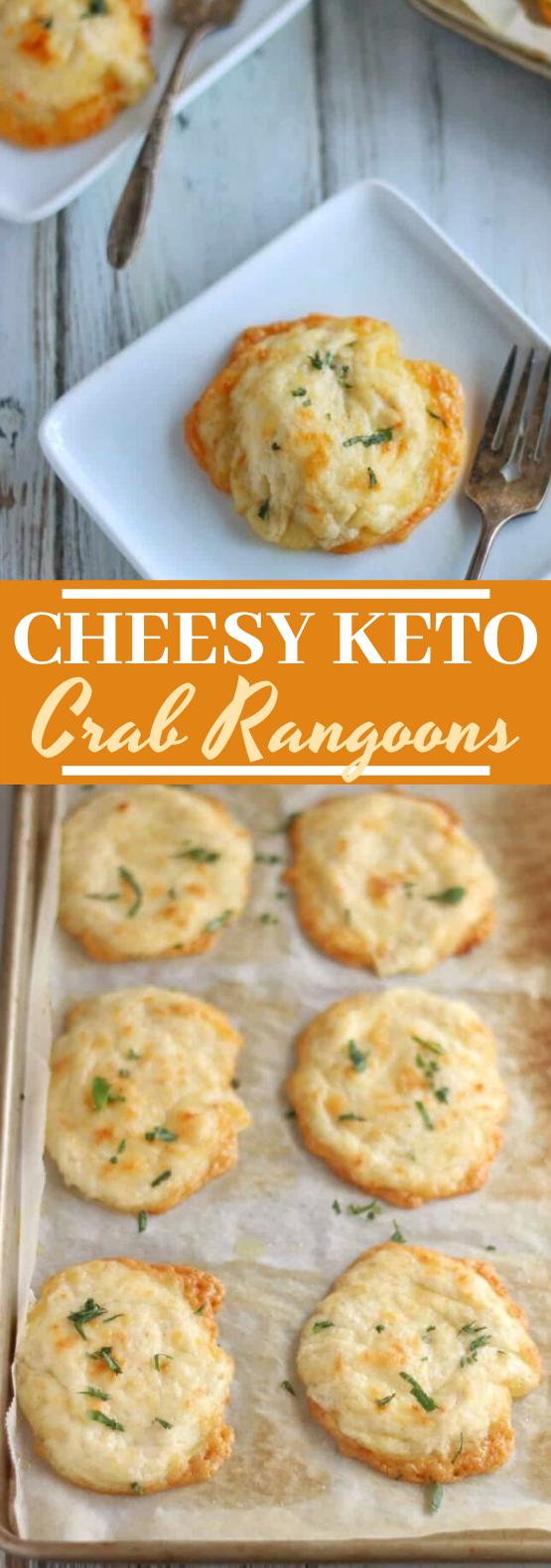 Cheesy Keto Crab Rangoons #keto #lowcarb #dinner #glutenfree #diet