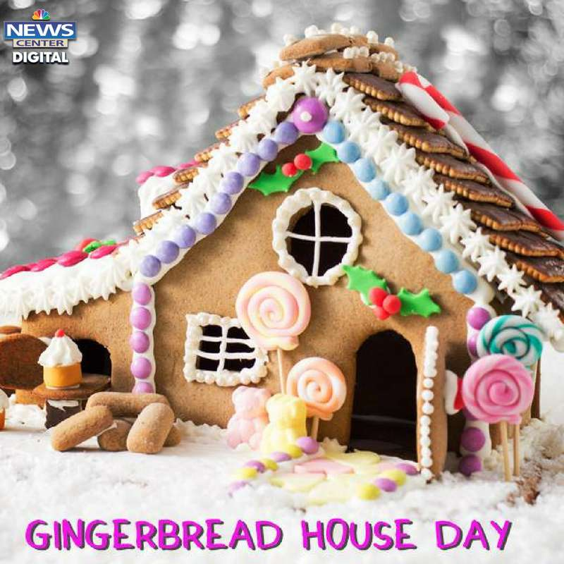 Gingerbread House Day Wishes Images download