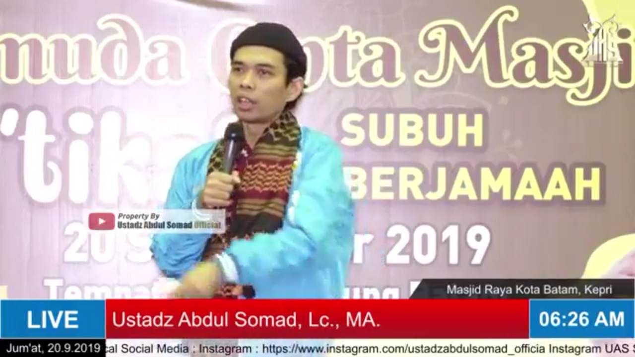 Ngeri... Ustadz Abdul Somad Blak-Blakan Soal Dosa Emak-Emak Senam Zumba