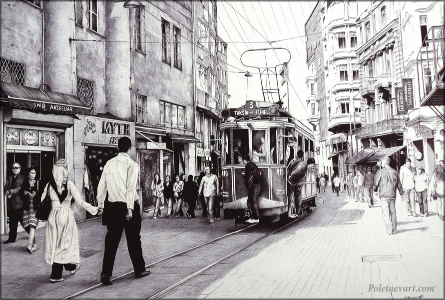 07-Nostalgic-Istanbul-Andrey-Poletaev-Capturing-Architecture-with-Ballpoint-Pen-Drawings-www-designstack-co