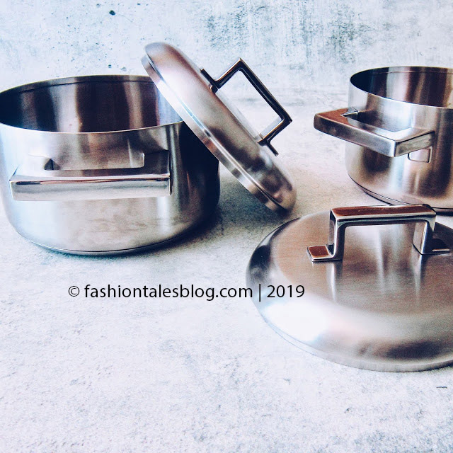 Silver cookware