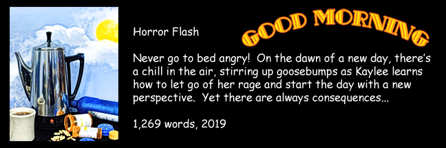 Banner Link for Gori Suture's horror short story Good Morning