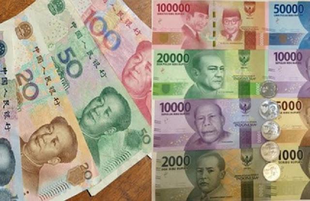Bye-Bye Dolar AS, Perdagangan Indonesia-China Kini Resmi Pakai Rupiah dan Yuan