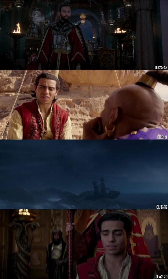 Aladdin 2019 BRRip 720p 480p Dual Audio Hindi English Full Movie Download