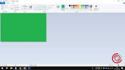 4. Terakhir, silakan kalian klik pada lembar kerjanya nantinya akan berubah warna