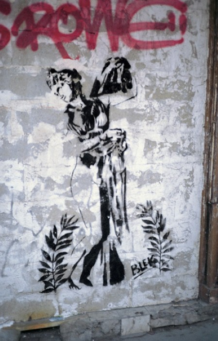 Пионер настенной живописи. Blek le Rat 24