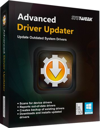 SysTweak Advanced Driver Updater 4.5.1086.17940 poster box cover