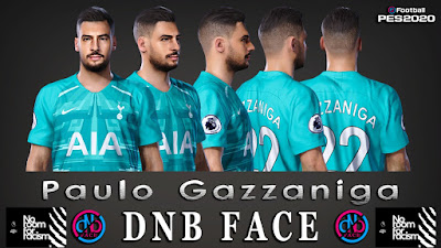PES 2020 Faces Paulo Gazzaniga by DNB