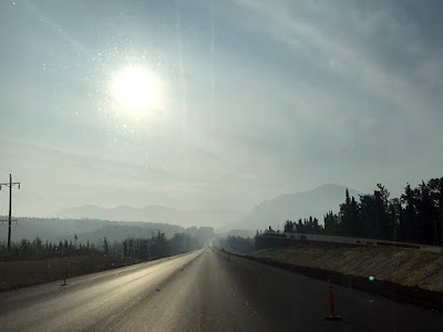 Driving Through the Smoke (Right Out of Soldotna)