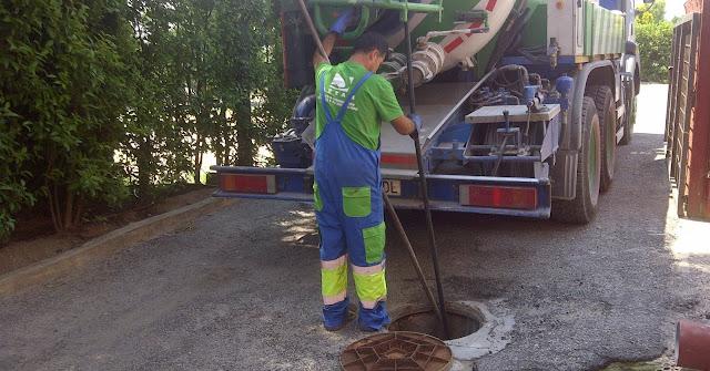limpieza y conservación alcantarillado Madrid