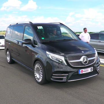 This Twin-Turbo AMG V-8-Swapped Mercedes V-Class Is Our New Favorite Sleeper