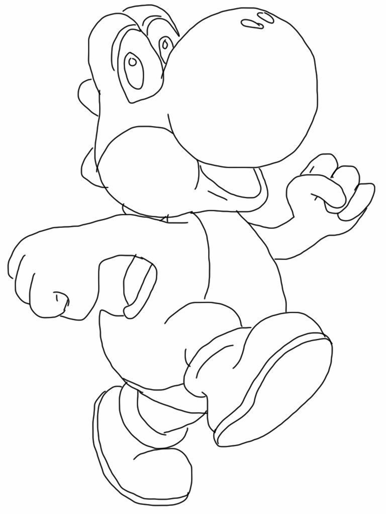 Mario Coloring Pages | Fantasy Coloring Pages