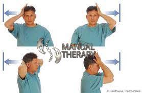 تمرين تقوية عضلات الرقبة