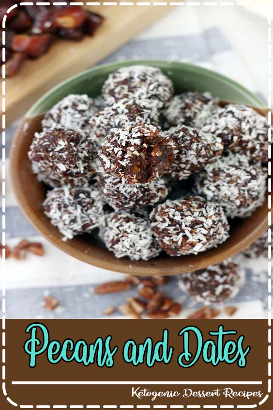 Paleo chocolate coconut energy balls are an amazing midday snack and energy boost Pecans and Dates