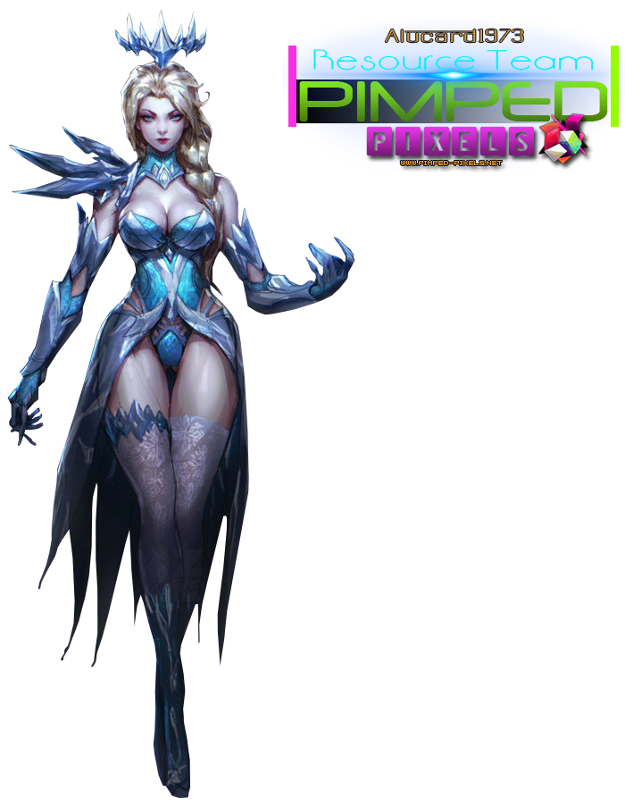 Elsa Dark Ice Queen pt 2