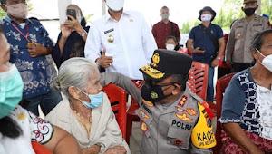 Kapolda Sumatera Utara Irjen Pol Panca Putra Simanjuntak, Tinjau Vaksinasi Massal