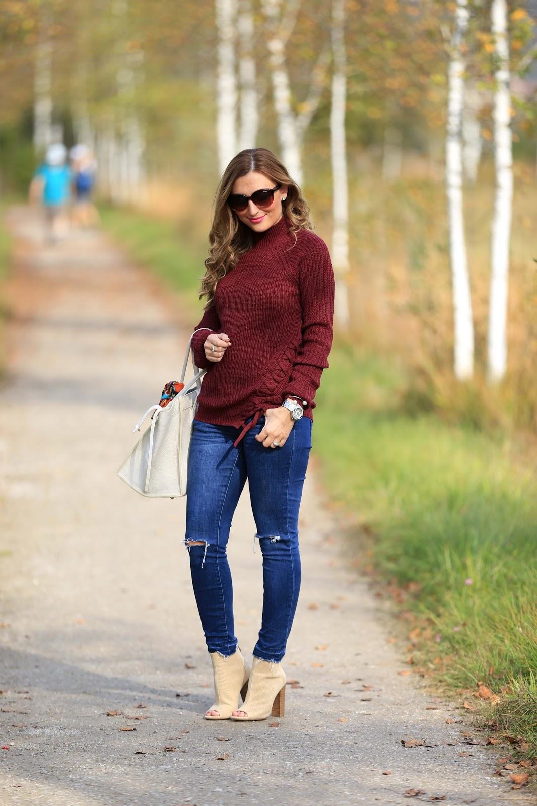 Lookalike Celine - Tasche wie von Celine - Trapez Tasche Celine Blogger - Blogger mit weißer Tasche - Blogger mit beiger Tasche - Seamlessfashion-Seamlessfashion Bag