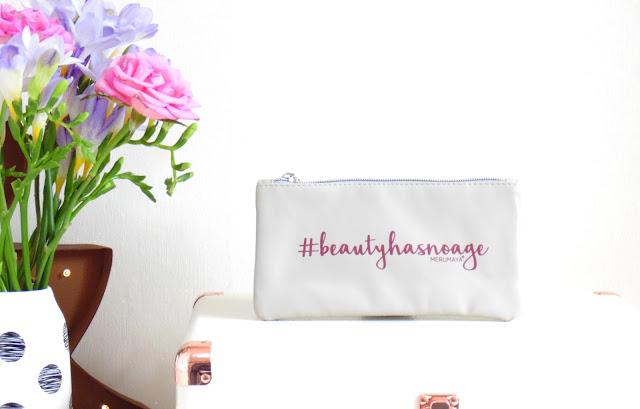 Merumaya Makeup Bag #BeautyHasNoAge