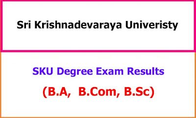 Sku Degree Examination Results 2020 Ba Bcom Bsc All Semester Ednewz In