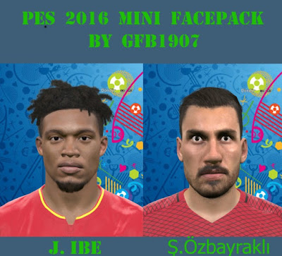 PES 2016 Mini Face Pack by GFB1907