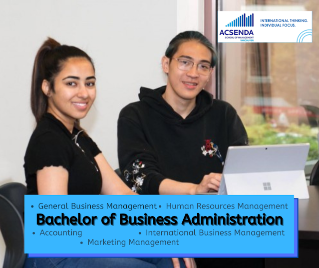 Bachelor of Business Administration - Acsenda School of Management