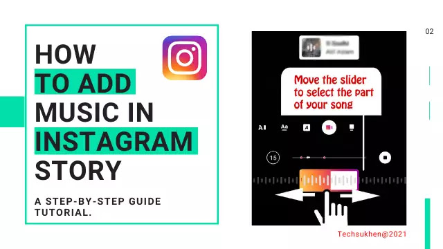 how to add music to an Instagram story perfectly