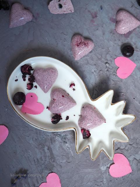 jagodowe czekoladki