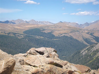 view, Rocky Mountain National Park