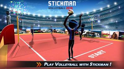 StickMan Volleyball 2016 v1.2 Apk
