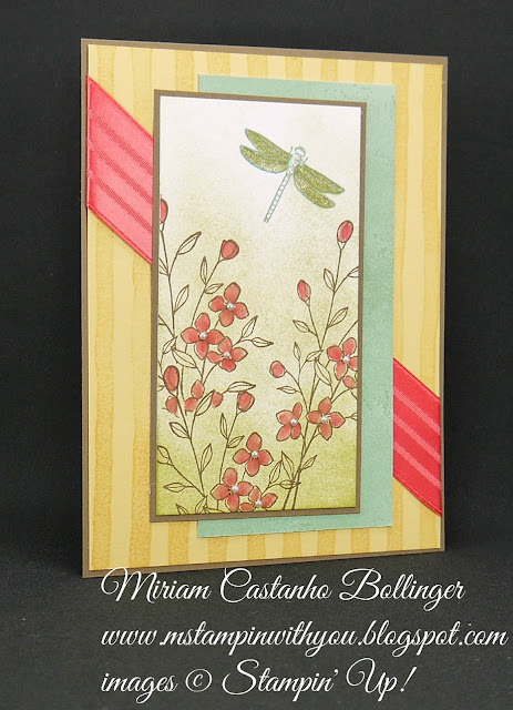 Miriam Castanho-Bollinger, #mstampinwithyou, stampin up, demonstrator, mm, all occasions card, brushstrokes background stamp, touches of texture, wink of stella, su