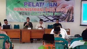 Ketua dan Sekretaris MWCNU se Pati Ikuti Pelatihan Administrasi Database