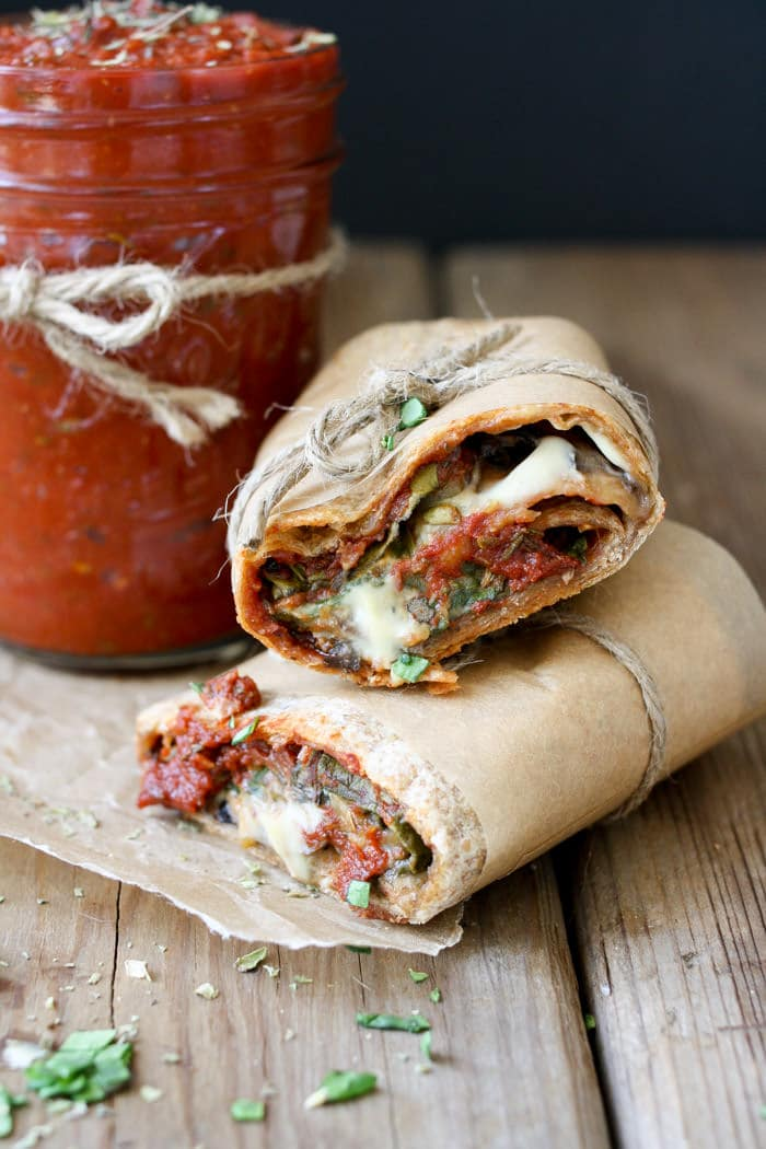 VEGAN PIZZA BURRITO AND EASY PIZZA SAUCE #vegan #pizza #burrito #easy #dinner