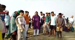 बख्तियारपुर विधायक रणविजय सिंह घोसवरी गंगा घाट