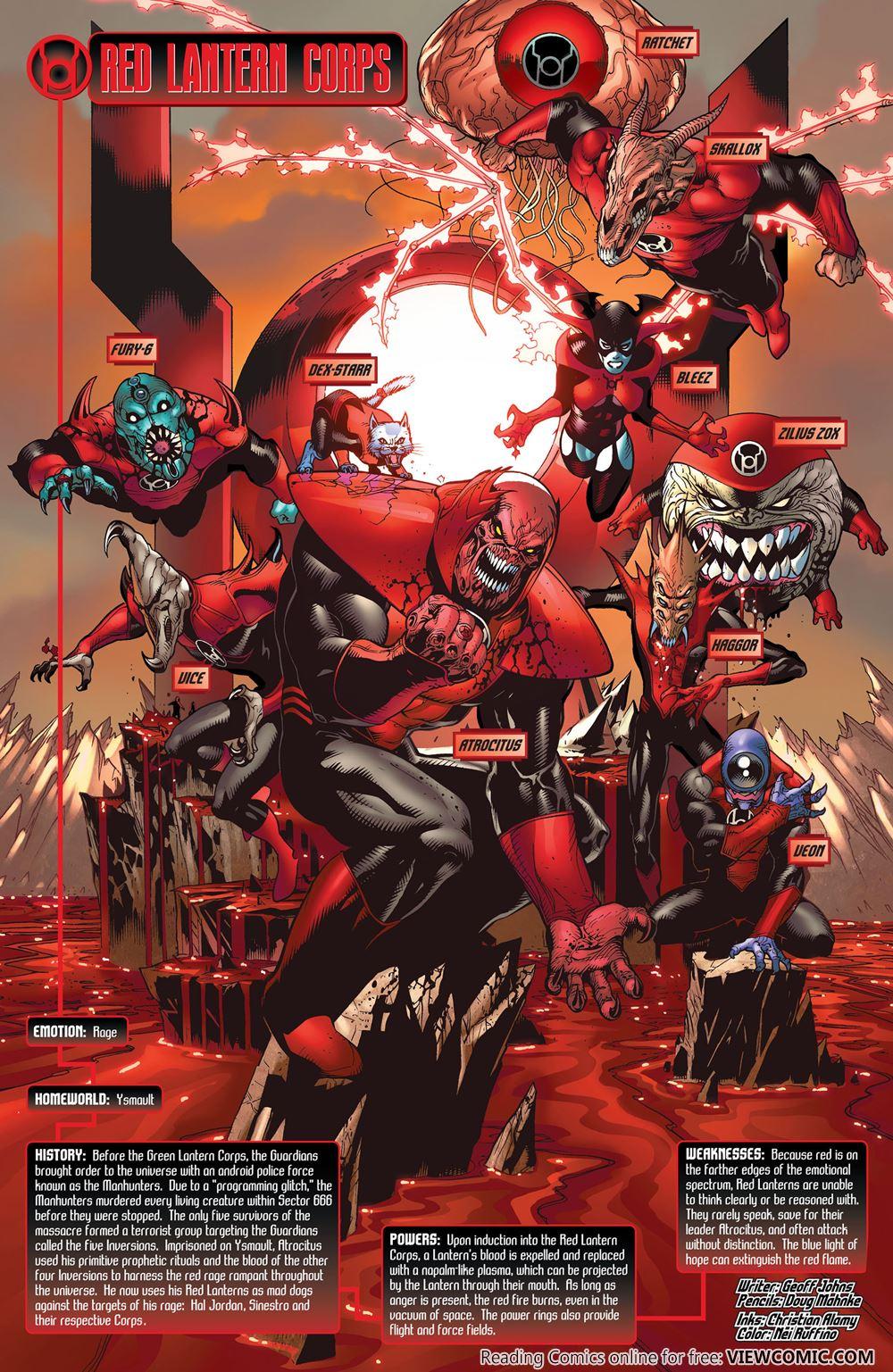 Blackest Night: Tales of the Corps 1 (DC Comics