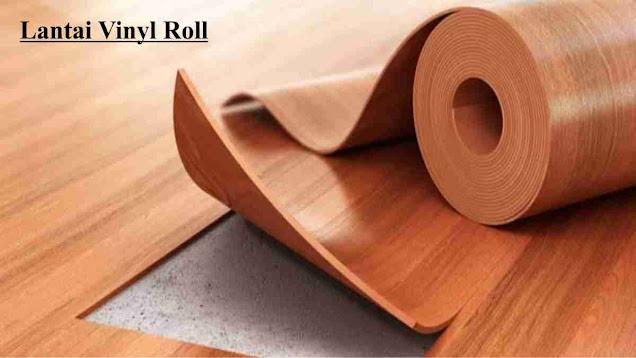 jenis lantai pvc roll